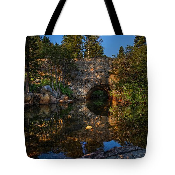 Through The Archway - 1 Tote Bag