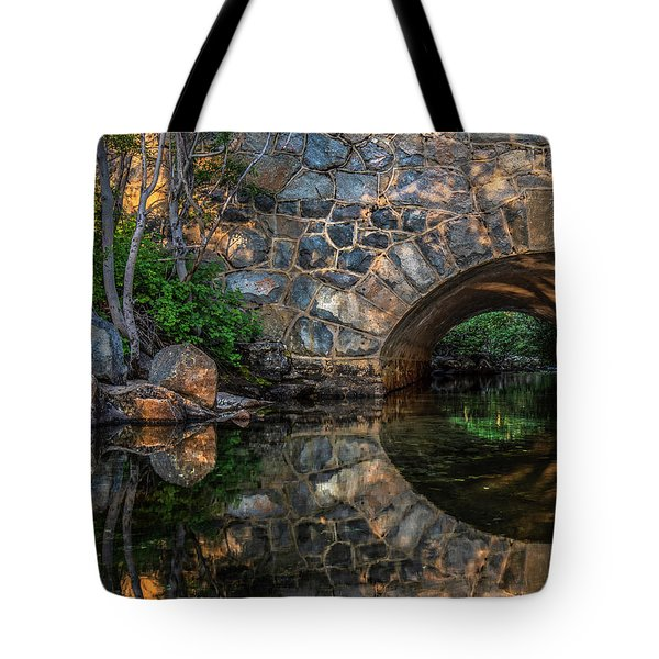 Through The Archway - 2 Tote Bag