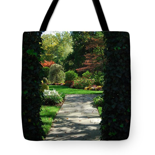 Through The Archway Tote Bag by Eva Kaufman