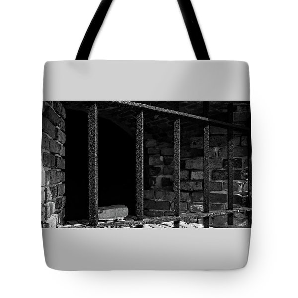 Through The Bars 2 Tote Bag