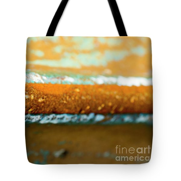 Tote Bag featuring the photograph Through The Centre by Wendy Wilton