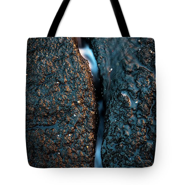 Through The Crack Tote Bag