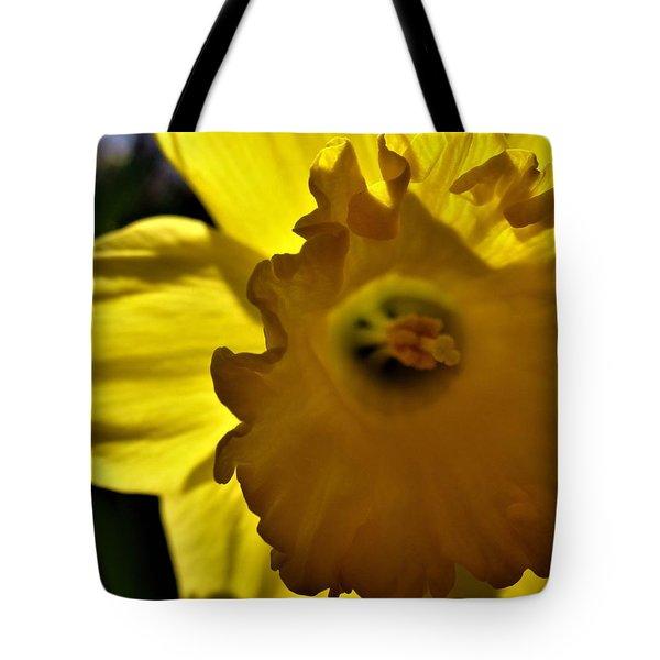 Through The Daffodil Tote Bag