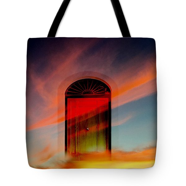 Through The Door Tote Bag