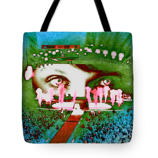 Through The Eyes Of Taylor Tote Bag by Kim Peto