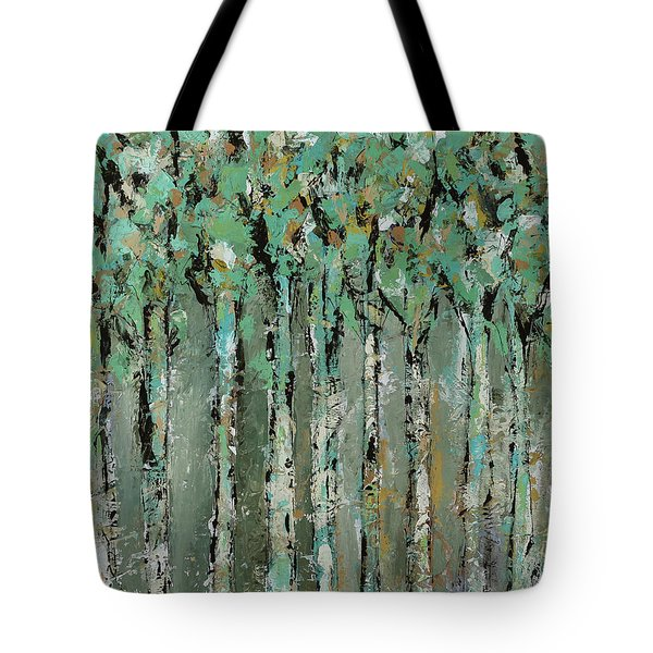 Through The Forest Tote Bag by Kirsten Reed