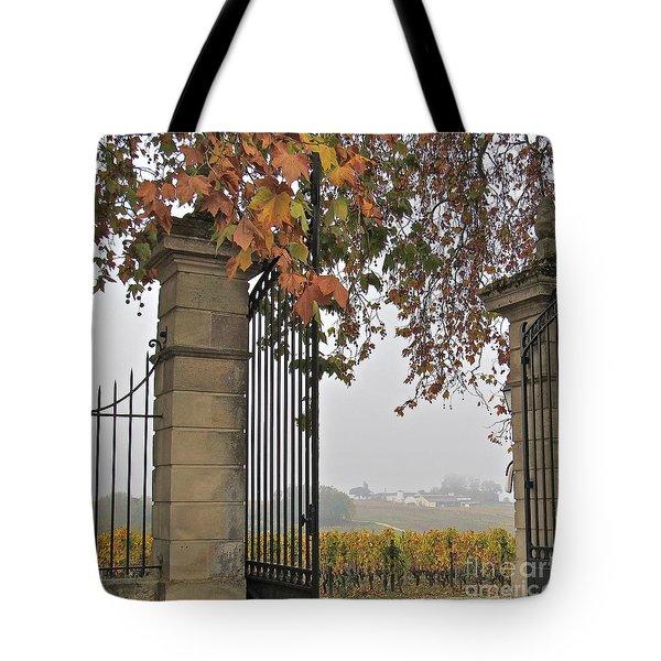 Through The Gates Tote Bag