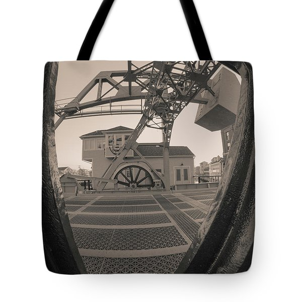 Through The Gear In Mystic Ct Tote Bag