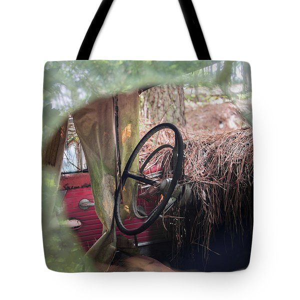 Through The Glass Tote Bag