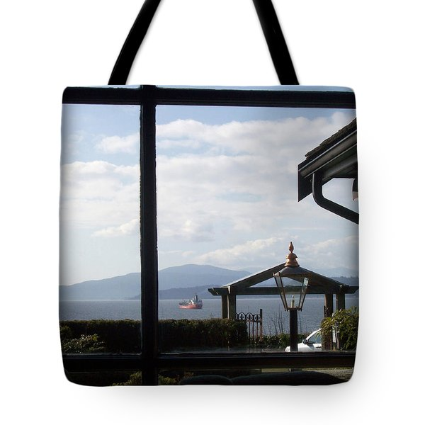 Tote Bag featuring the photograph Through The Looking Glass by Mary Mikawoz