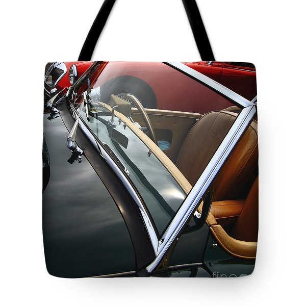 Tote Bag featuring the photograph Through The Looking Glass by Stephen Mitchell