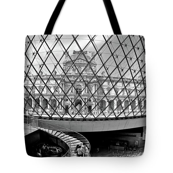 Through The Louvre Tote Bag