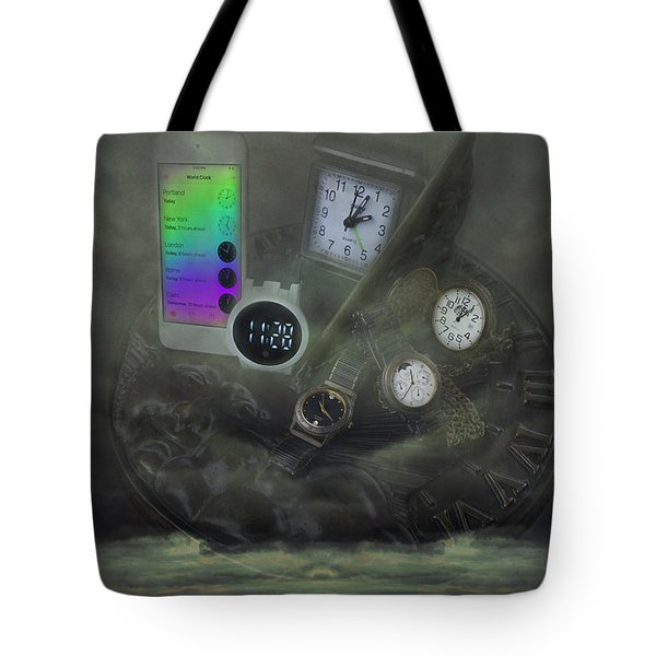 Through The Mists Of Time Tote Bag