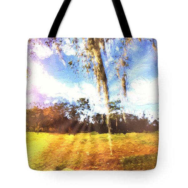Through The Moss Tote Bag by Annette Berglund