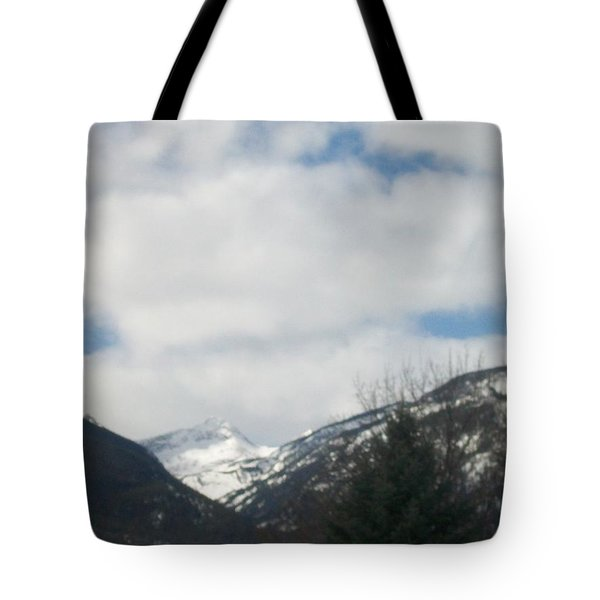 Through The Pass Tote Bag by Jewel Hengen