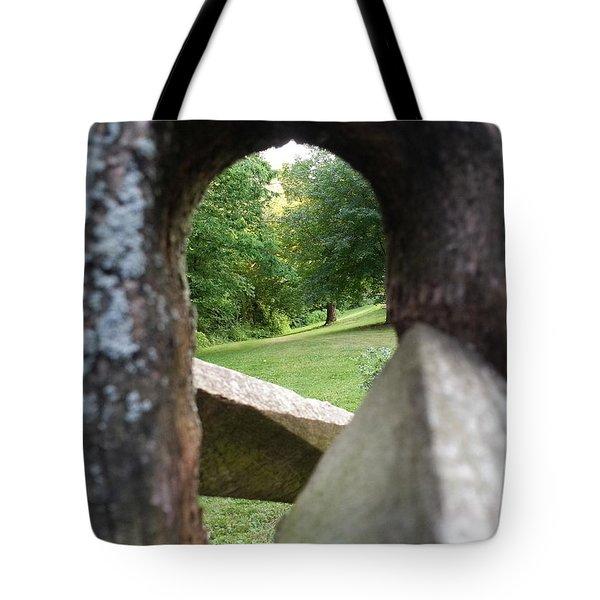 Through The Post Tote Bag