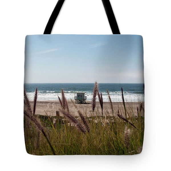 Tote Bag featuring the photograph Through The Reeds by Lorraine Devon Wilke