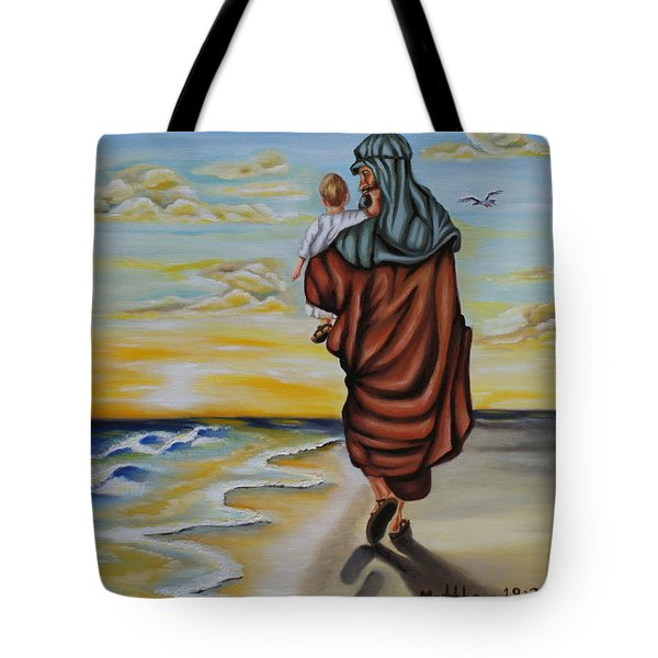 Through The Struggle Tote Bag