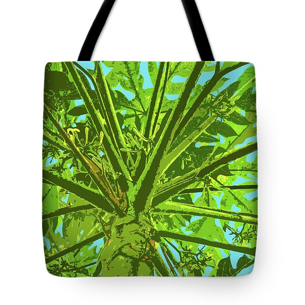 Through The Trees II Tote Bag