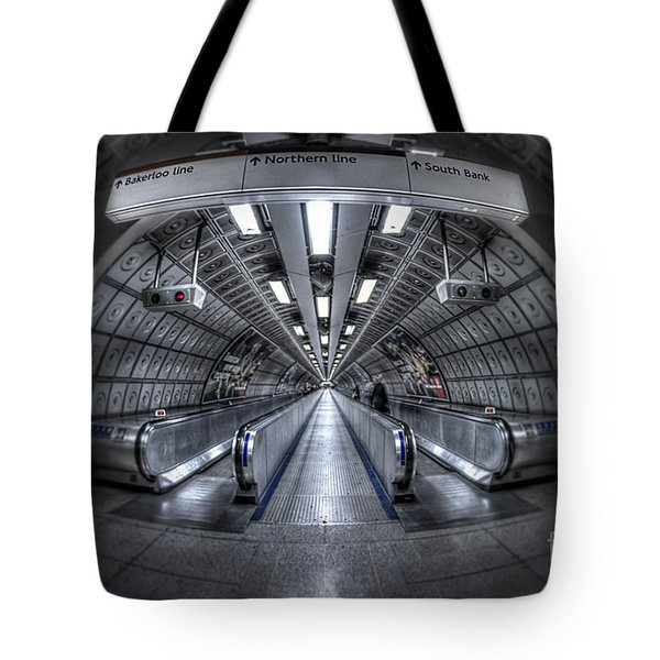 Through The Tunnel Tote Bag by Evelina Kremsdorf