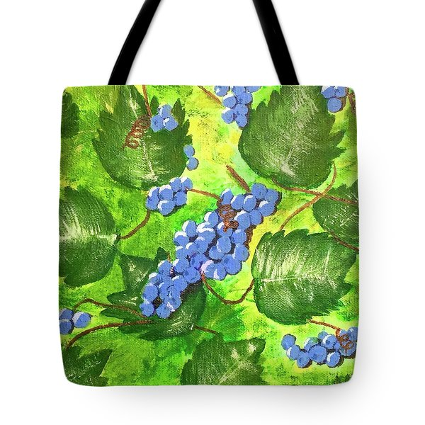 Through The Vines Tote Bag