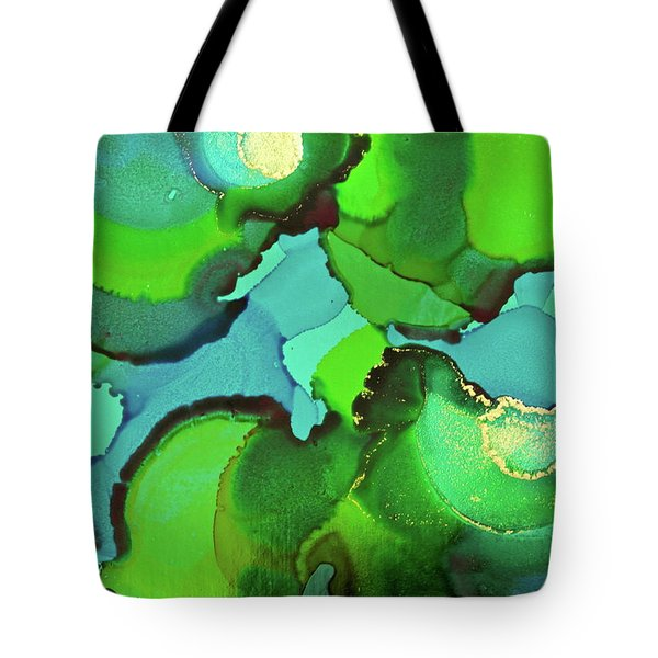 Tote Bag featuring the painting Through The Waters by Michele Myers