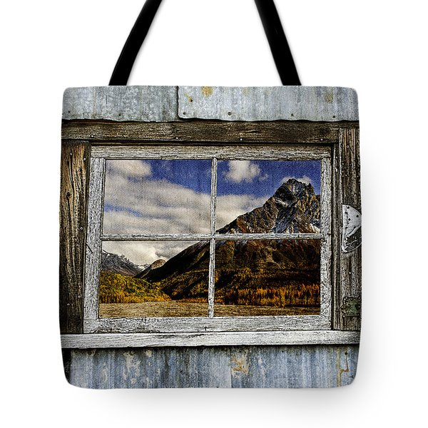 Through The Window Of The Past 2 Tote Bag