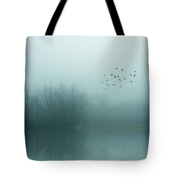 Through The Zero Hour Tote Bag