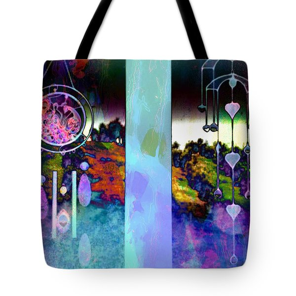 Through To The Groves Dusk Tote Bag