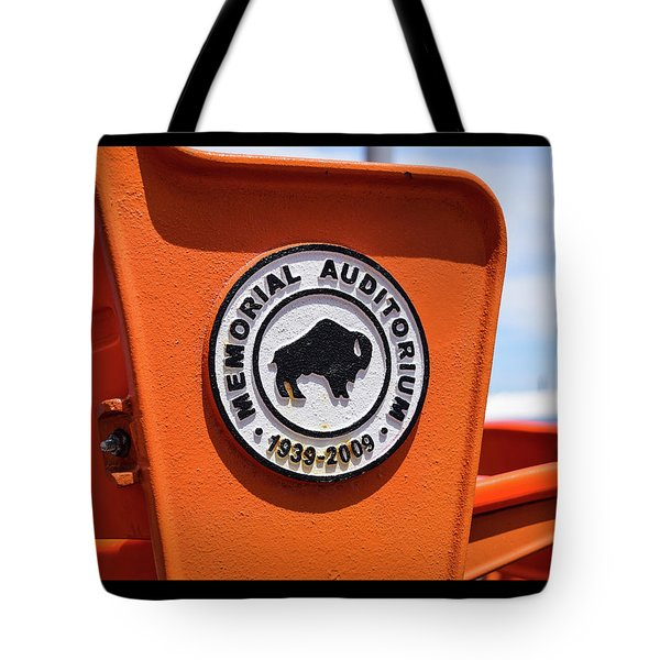 Throwback Seats Tote Bag
