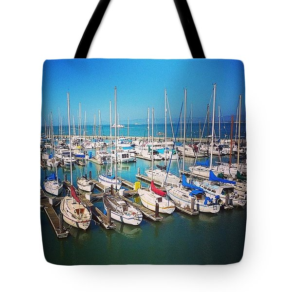 Throwback Thursday - #sanfrancisco Tote Bag