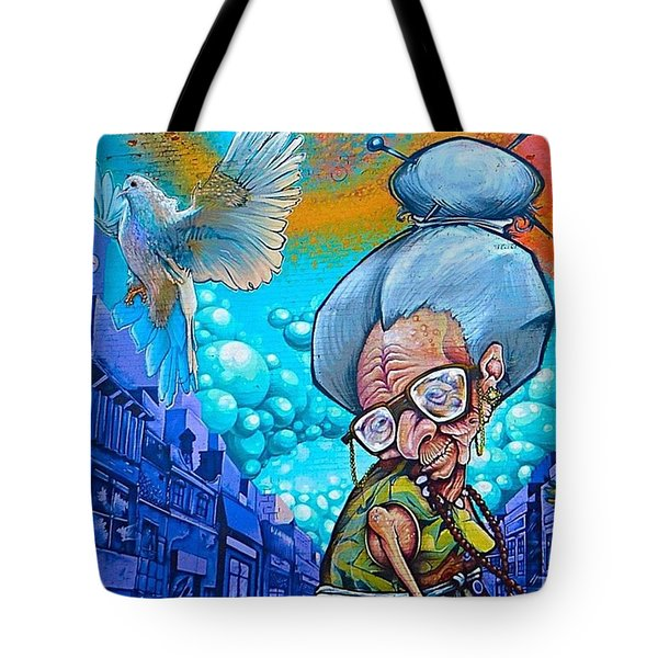 Throwback To Some #granny #graffitiporn Tote Bag