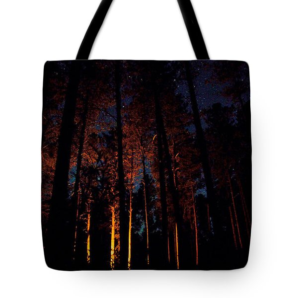 Thru The Dark Tote Bag