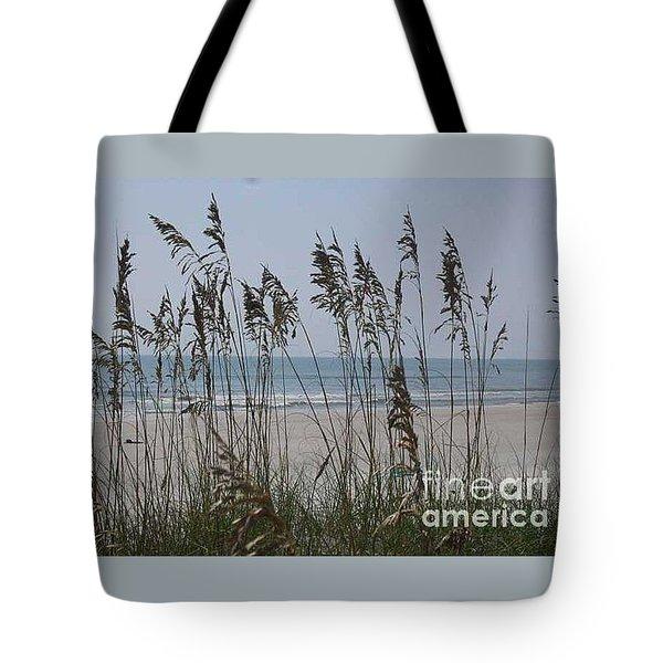 Thru The Sea Oats Tote Bag by Barb Montanye Meseroll