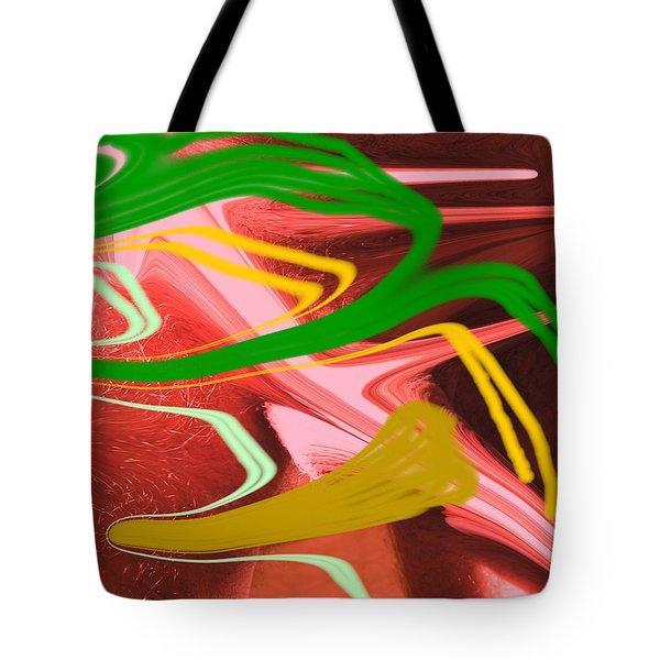 Thrust Tote Bag by Allan  Hughes