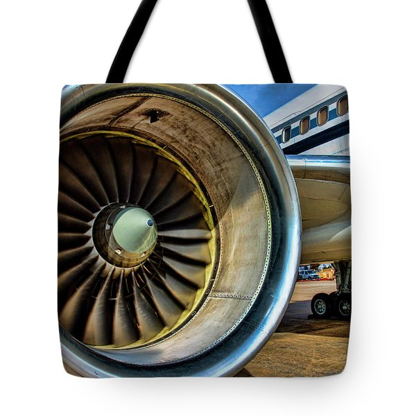Thrust Tote Bag
