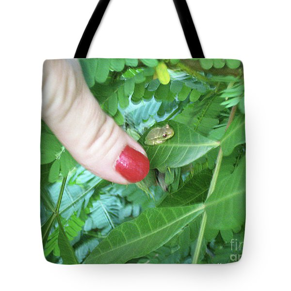 Tote Bag featuring the photograph Thumb Sized by Megan Dirsa-DuBois