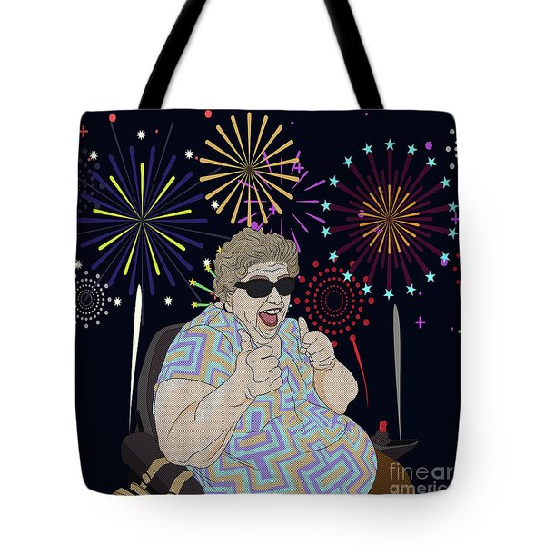 Tote Bag featuring the digital art Thumbs Up by Megan Dirsa-DuBois