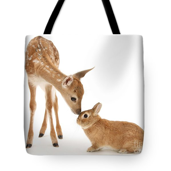 Thumper And Bambi Tote Bag