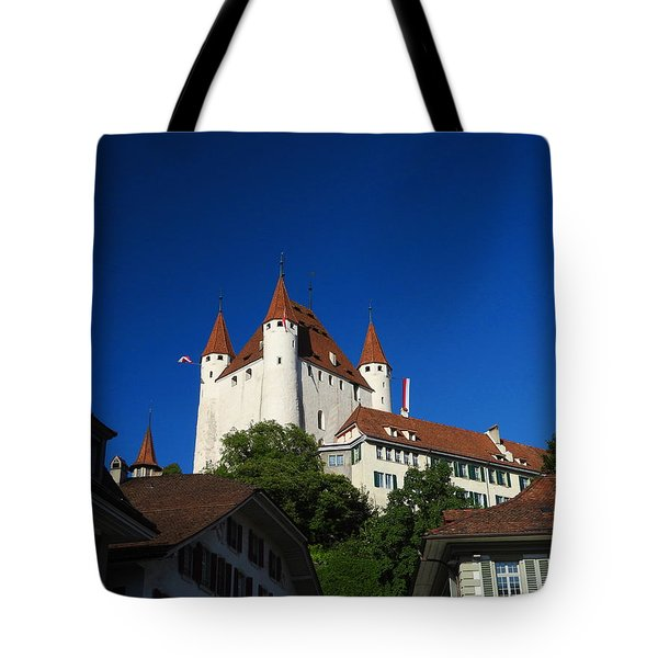 Thun Castle Tote Bag by Ernst Dittmar