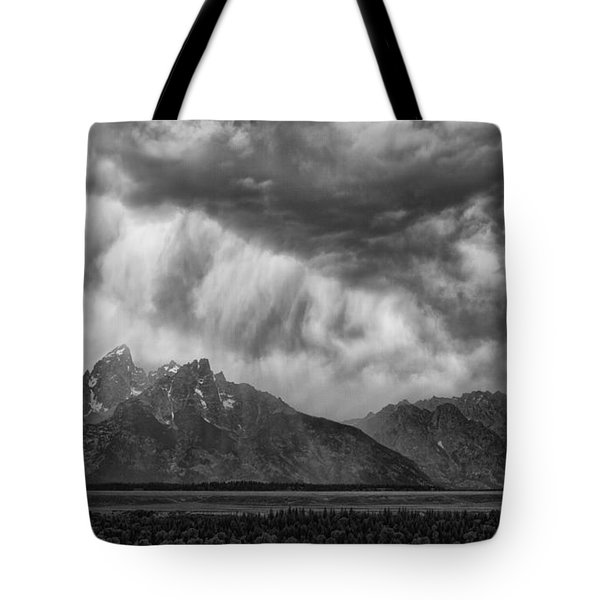 Thunder Clouds Tote Bag by Hugh Smith