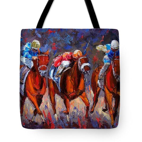 Thunder Tote Bag by Debra Hurd