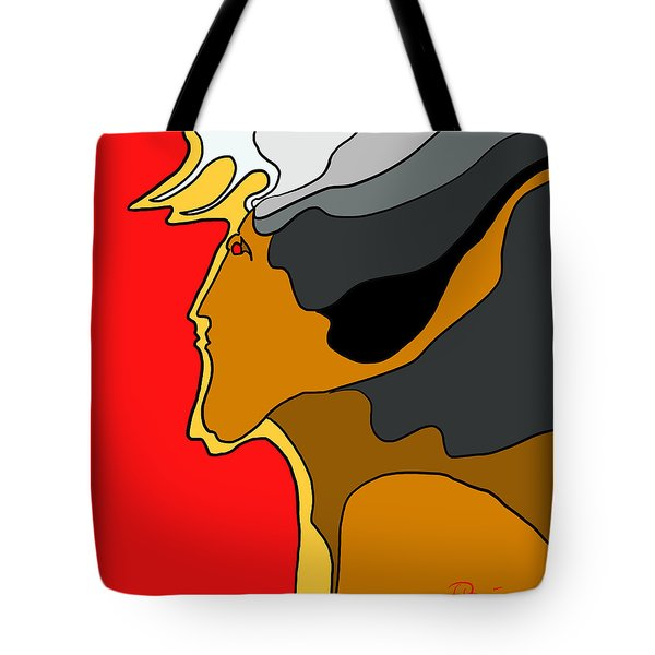 Thunder God Tote Bag