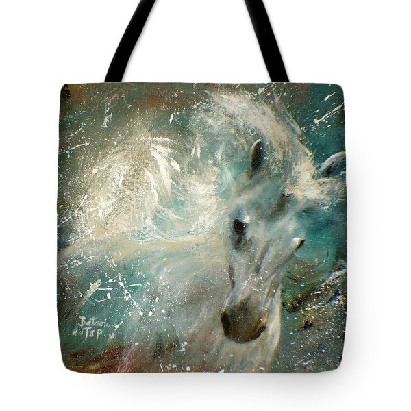 Poseiden's Thunder Tote Bag by Barbie Batson