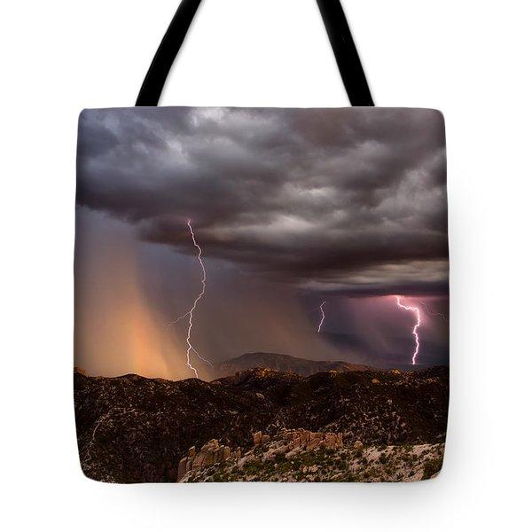 Thunder Mountain Tote Bag