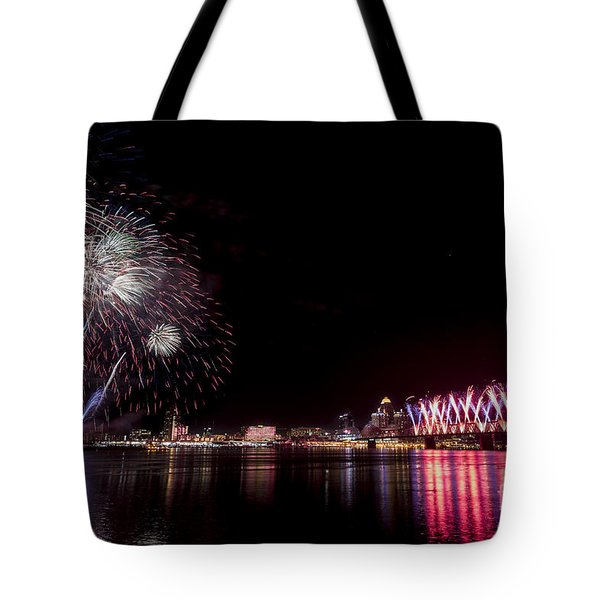 Thunder Over Louisville Tote Bag
