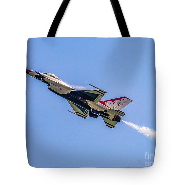 Tote Bag featuring the photograph Thunderbird #5 by Nick Zelinsky