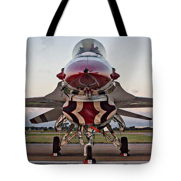 Tote Bag featuring the photograph Thunderbird by Joe Paul