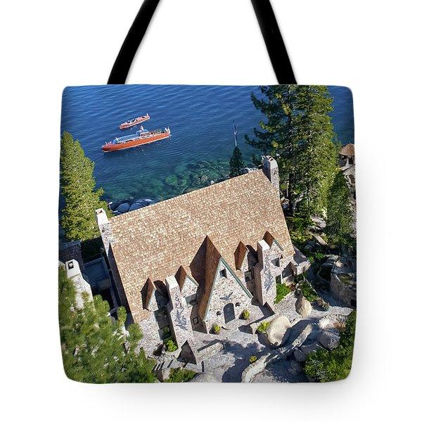 Thunderbird Lodge Aerial Tote Bag