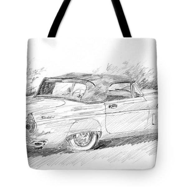 Thunderbird Sketch Tote Bag